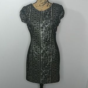 Black and Gold Dress - NWT